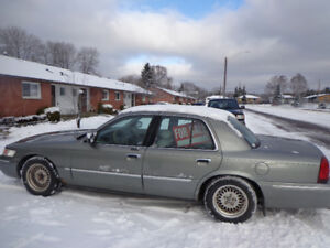 2001 Mercury Grand Marquis Sedan