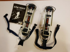 Backcountry trekkers - used twice, Like-new condition