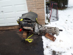 jeep liberty transmission, transfercase and 3.7 engine