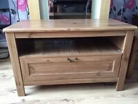 Tv cabinet with a drawer