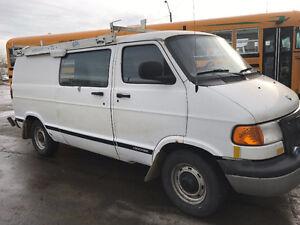 2000 Dodge Ram Van Minivan, Van
