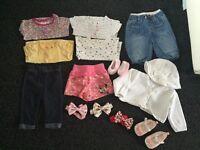 Baby girls 0-3 bundle