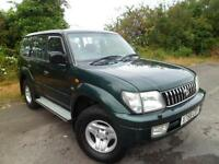 TOYOTA LANDCRUISER 3.0 TD COLORADO GX MANUAL 8 SEATER, Green, Manual, Diesel, 2