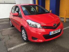 2012 Toyota Yaris 1.33 CVT TR Great Spec Only 15k 5 Door