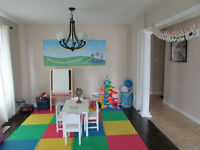 ONE SPOT AVAILABLE OVER 2 YEARS OLD PART TIME