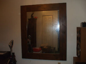 OLD HOMEMADE MIRROR FOR SALE,,