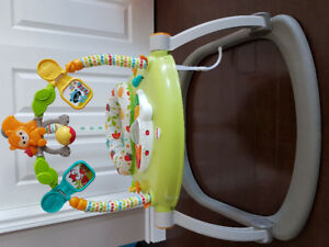 EXCELLENT CONDITION FISHER-PRICE WOODLAND FRIENDS JUMPEROO