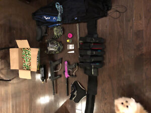 paintball gear in great condition