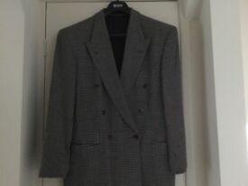 Men's Boss Double Breasted grey jacket