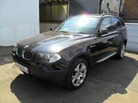 BMW X3 2.0D 2004 SPORT COMPLETE WITH M.O.T HPI CLEAR INC WARRANTY