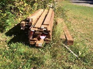 Brown Pressure Treated Wood