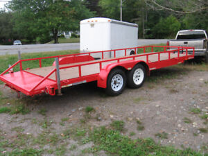 20 foot tandem axle 7000 lb car/cargo trailer