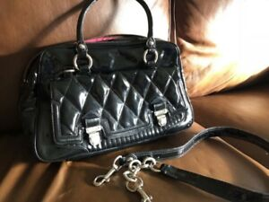 Authentic COACH purse Black Patent Leather