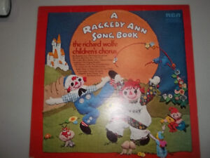 "12"" vinyl record A Raggedy Ann Songbook The Richard Wolfe"