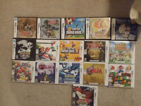 3DS & ORIGINAL DS GAMES FOR SALE