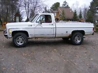 "Wanted 4"" suspension lift for 73-87 chevy truck"