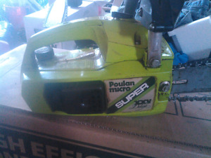 Top handle Poulan Chainsaw