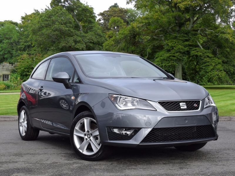 seat ibiza 1 2 tsi fr sportcoupe 3dr grey 2016 in. Black Bedroom Furniture Sets. Home Design Ideas