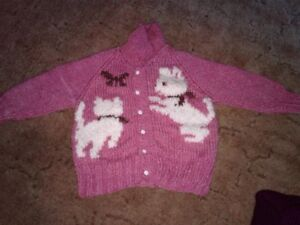 Handmade sweater 2/2T or 3/3T possibly