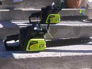 Poulan chain saws all like new Peterborough Peterborough Area image 1