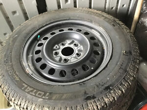 Tires with rims Strathcona County Edmonton Area image 1