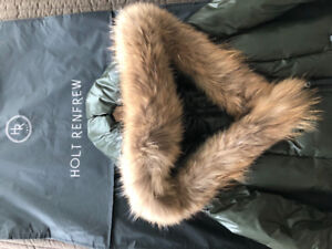 Mackage Winter Down Coat with ful collar in XS