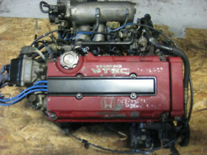 98 01 INTEGRA DC2 B18C TYPE R SPEC ENGINE ONLY B18C MOTEUR JDM