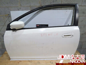JDM Honda Civic EP3 Type R Front Left Side Door, Panels, Glass