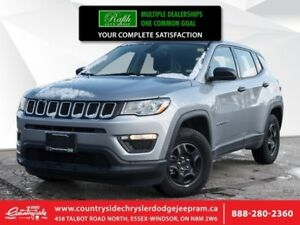 2017 Jeep Compass Sport  BRAND NEW VEHICLE|BLOW OUT PRICE|