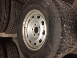 Dodge Rims and Winter Tires