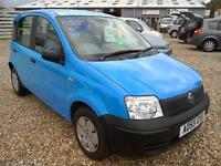 2005 Fiat Panda 1.1 Active in Blue Only GRP 1 Ins 44K Great 1st Car or runabout