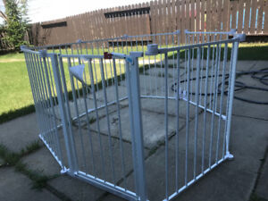 4 In 1 Play Yard With Safety Gate