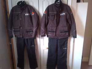 Snowmobile Floatation Suites - 2 mens small size- Exclnt. Cond.