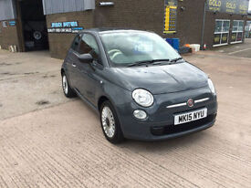 2015 FIAT 500 1.2 POP,STOP/START...ONLY 8000 MILES