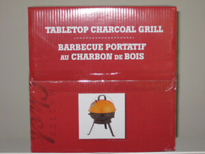 BRAND NEW TABLETOP CHARCOAL GRILL!