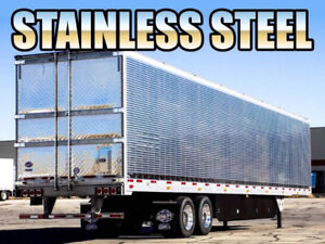 2019 53' Utility Stainless Steel Reefer