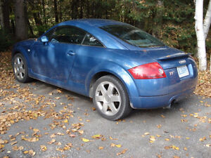 2001 Audi TT Quattro Coupe (2 door)