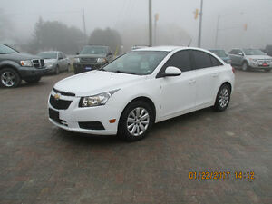 2011 Chevrolet Cruze LT Turbo w/1SA Sedan