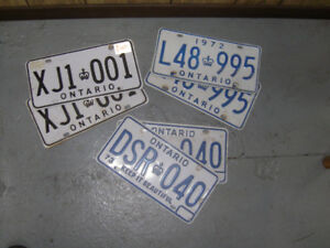 LICENCE PLATE COLLECTOR?