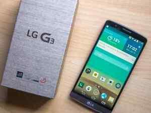Original LG G3  13Mpix 32GB, screen 5.5  unlocked,like new $189