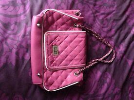 New pink hand bag