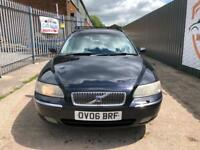 VOLVO V70 2.4 DIESEL AUTOMATIC D5 SE 2006 LEATHER INTERIOR