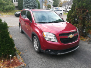Chevrolet orlando 2012 1LT , 7 places !!!