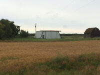 Pasture and Grain Land Between Ryley and Holden in Beaver County