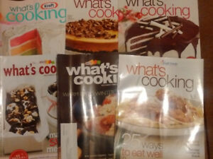 Kraft What's Cooking Magazines - lot of 59