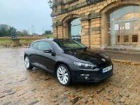2011 61 VW SCIROCCO 2.0 TDI GT 140 BHP £30 TAX TURBINE ALLOYS IMMACULATE