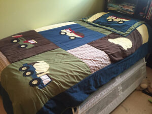 Construction Truck bedding and decor