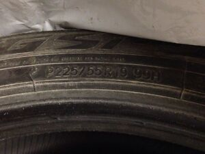 Winter tires, 225/55 R19