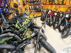 Save on Fatbikes with 0% Financing at Woodcock Cycle