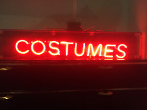 COSTUMES Neon Light For Sale